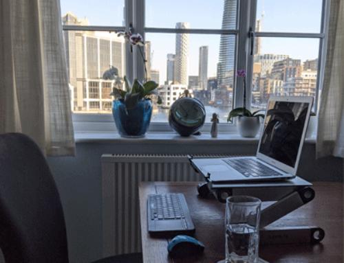 Adjust your desk setup – Top desk setup tips while working from home